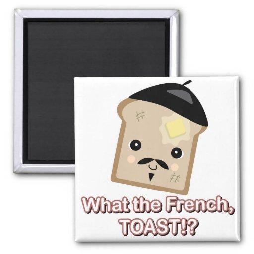 qué la tostada francesa imán para frigorífico