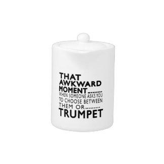 Que la trompeta torpe del momento diseña