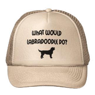 ¿Qué Labradoodle haría? Camisetas y regalos Gorras De Camionero