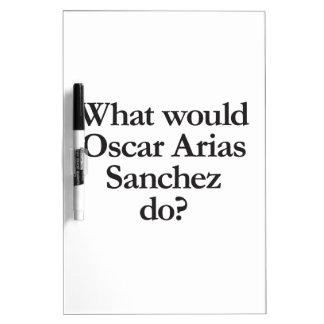 qué las arias Sánchez de Óscar haría Pizarra