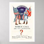 ¿Qué llamada usted está contestando? (US02110) Poster
