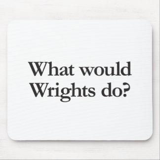 qué los wrights haría alfombrilla de ratón