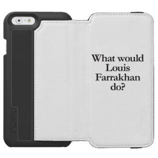 qué Louis farrakhan haría Funda Billetera Para iPhone 6 Watson