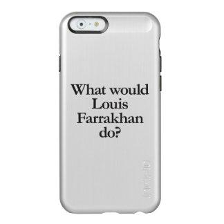 qué Louis farrakhan haría Funda Para iPhone 6 Plus Incipio Feather Shine