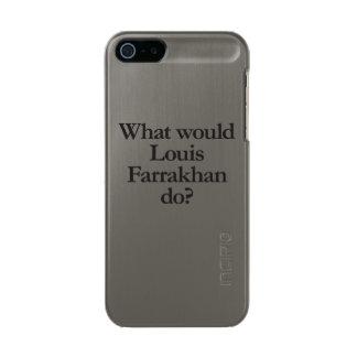 qué Louis farrakhan haría Funda Para iPhone 5 Incipio Feather Shine