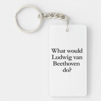 qué Ludwig van Beethoven haría Llavero