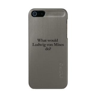 qué Luis von mises haría Carcasa De Iphone 5 Incipio Feather Shine