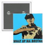 Qué mA ascendente Brotha - arte Hip Hop de la pint