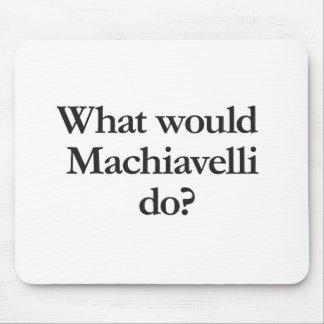 qué Maquiavelo haría Alfombrilla De Ratón