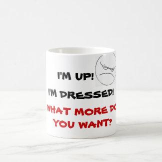 ¿QUÉ MÁS USTED QUIEREN? taza