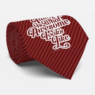 Qué miradas impresionantes tienen gusto corbata personalizada