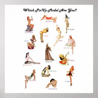 ¿Qué modelo modelo es usted? poster