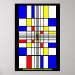 Qué Mondrian no pudo realizar Posters