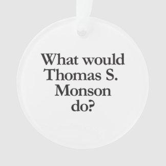 qué monson de Thomas s haría