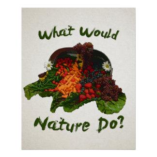 Qué naturaleza haría perfect poster