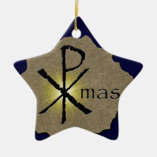 Qué Navidad significa realmente el ornamento Adorno Navideño De Cerámica En Forma De Estrella