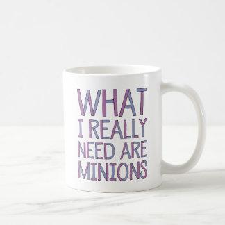 Qué necesito realmente es la taza de los
