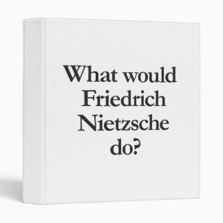 qué nietzsche de Friedrich haría