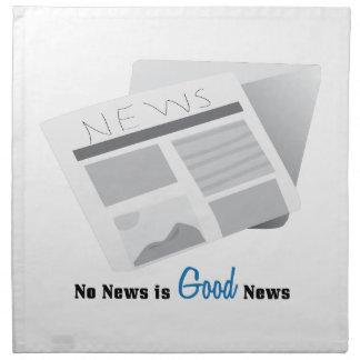 Que no haya noticias es buena noticia servilletas de papel