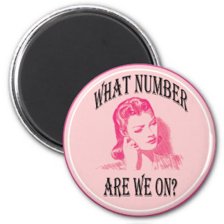 ¿qué número estamos encendido? imán redondo 5 cm
