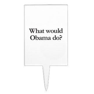 qué obama haría decoración de tarta