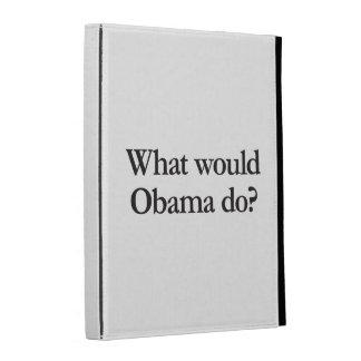qué obama haría