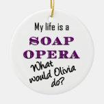 ¿Qué Olivia haría? Ornamento Ornato
