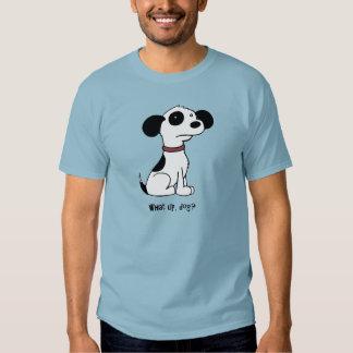 Qué para arriba, la camiseta de los hombres del poleras