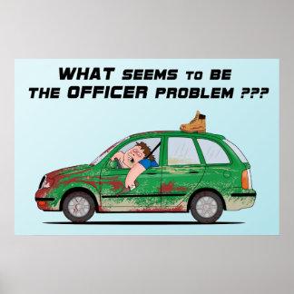 Qué parece ser el problema del oficial impresiones