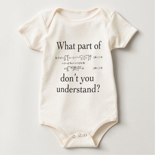 Qué parte… body para bebé