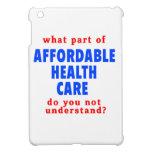 Qué parte de atención sanitaria asequible le hace