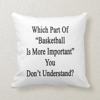 Qué parte de baloncesto es más importante usted Do