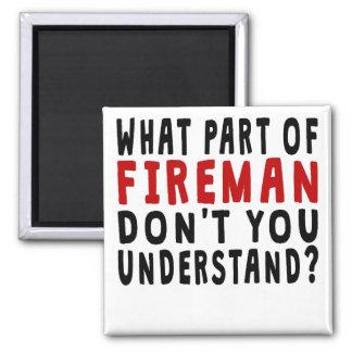 Qué parte del bombero imán cuadrado
