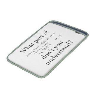 ¿Qué parte…? Fundas MacBook