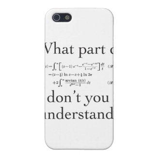 Qué parte… iPhone 5 fundas