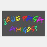 Que Pasa Amigos Stickers
