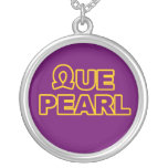 Que Pearl Necklace2 Personalized Necklace