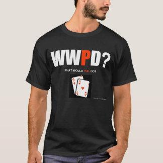 ¿Qué Phil haría? A9 (negro) Playera