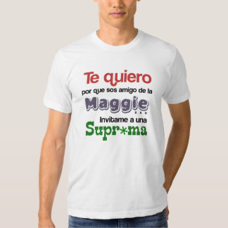 ¿Qué porque te quiero? Tee Shirt