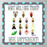 Qué poster de la abeja de I hoy