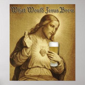 Qué poster del Brew de Jesús