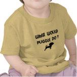 ¿Qué Puggle haría? Camiseta