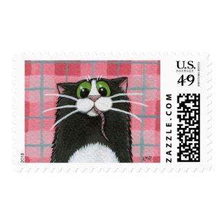 ¿Qué ratón Franqueo del gato negro