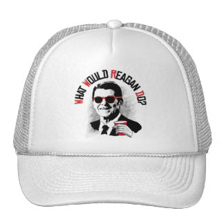 ¿Qué Reagan haría? Gorras