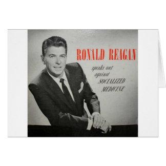 ¿Qué Reagan haría? Tarjeta De Felicitación