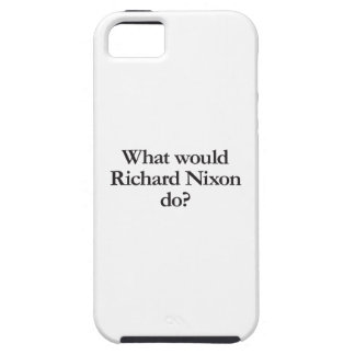 qué Richard Nixon haría Funda Para iPhone 5 Tough