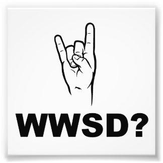 ¿Qué Satan haría?  ¿WWSD? Cojinete