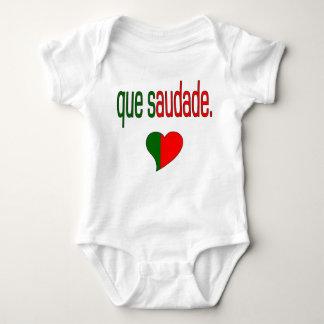 Que Saudade! Portugal Flag Colors T Shirts