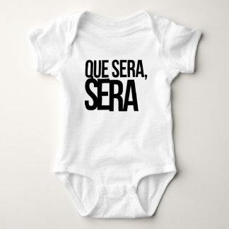 Que Sera Sera Baby Bodysuit