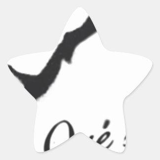 Que Sera Sera Star Sticker
